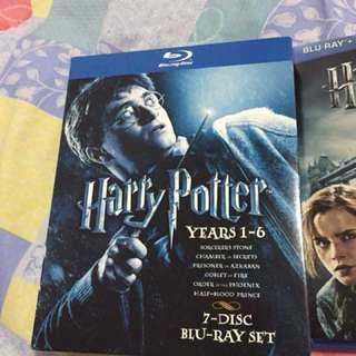 Harry Potter 9 movies Made in USA Bluray