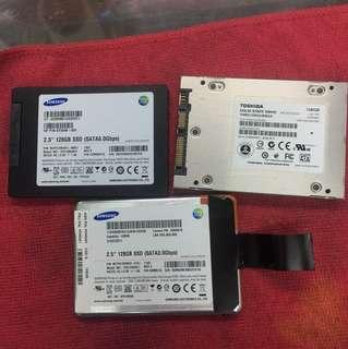 SSD 128gb each 50$