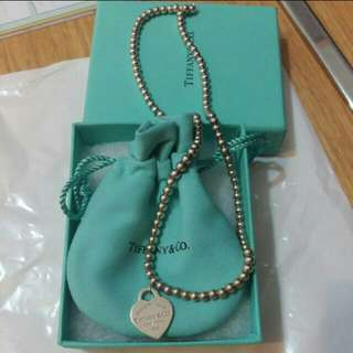 Tiffany & Co bead necklace