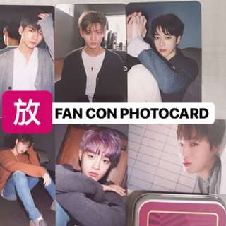 Wanna One Fan Con Photocard [限量]