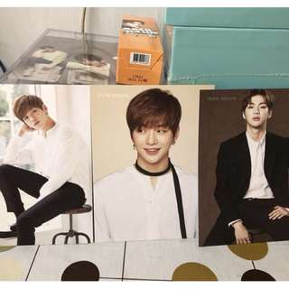 WannaOne 姜丹尼爾 Think Nature Postcard set $65包郵