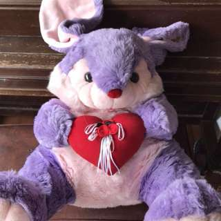 Cute Big Purple Bunny