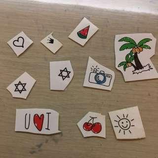 🚚 [購物贈🎁]紋身貼紙