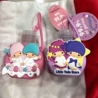 Little twin stars hand sanitisers