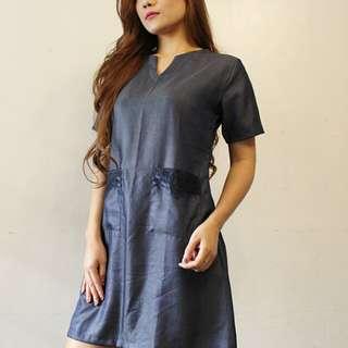 Limina Dress Blue