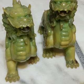Jadeite Auspicious Pi Yao (Pi Xiu)