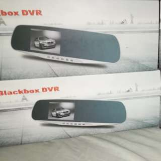 VEHICLE BLACKBOX DVR  with LED LIGHT front Camera for Night Vision(SILVER)