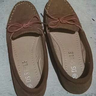 Brown Lady's Shoes