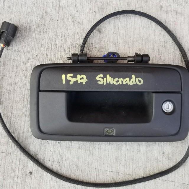 2015 through 2017 Chevy Silverado lift gate handle with camera