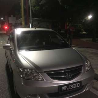 Honda city 1.5 vtec (A) 2006 silver full spec