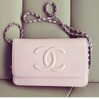 Chanel pink woc 粉