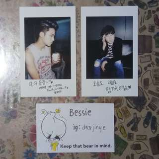 SEVENTEEN Boys Be Wonwoo Mingyu Photocard