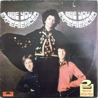 Jimi Hendrix - Are You Experienced / Axis: Bold as Love (UK Polydor Twosome Vinyl)