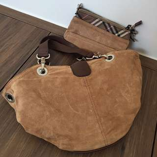 Burberry London Blue Label handbag 手袋