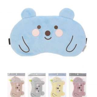 Miniso Lovely Bear Sleep Eye Mask (Pink)