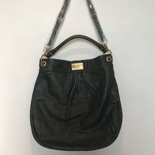 Olive green Marc Jacobs leather bag