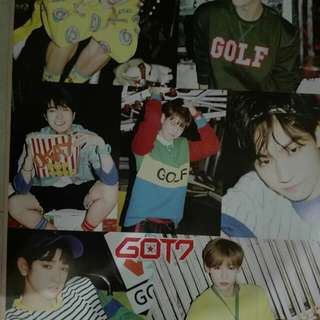 GOT 7 Poster (Large)