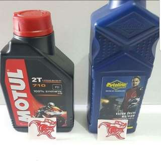 Instock - 2T for 2 stroke motorcycle - Putoline Rs959