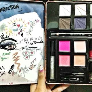 Limited edition one direction makeup set
