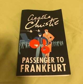 Agatha Christie Passenger to Frankfurt