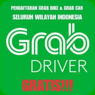 Pendaftaran Resmi Mitra GrabBike/GrabCar Seluruh Indonesia. GRATIS!!!!!!