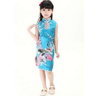BN CNY Cheongsam Dress Girls 2-12yrs