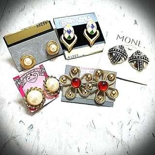Monet 耳環 Ear Rings