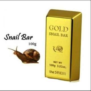 [BN] The Saem Gold Snail Bar Soap - 100g