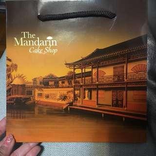 Mandarin Oriental Paper Bag 東方文華酒店紙袋