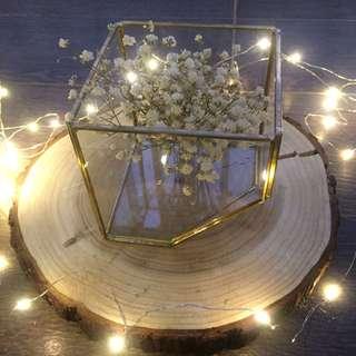 Glass holder. table decor. wedding. event