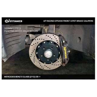 CJ DYNAMICS 330MM BRAKE DISCS ROTORS FOR AP RACING BRAKE CALIPERS