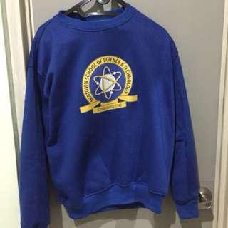 Spiderman Homecoming Midtown School sweater blue - biru