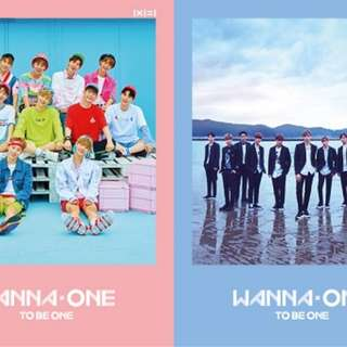 Wanna One To Be One RESTOCK!!!