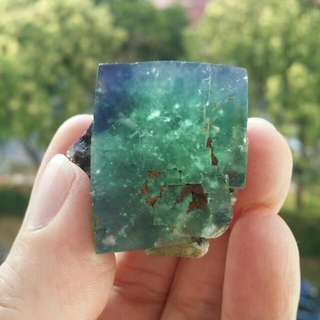 Rare Colour Change Fluorite Crystal