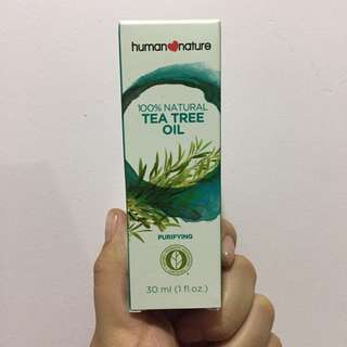 100% Natural Tea Tree Oil