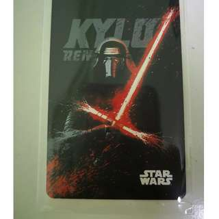 Star War Limited Edition Ezlink Card