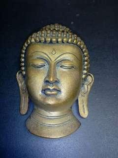 藏传佛教之财神象。红铜。60年代。高16cm