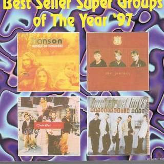 MY CD - BEST SELLER SUERGROUP OF THE YEAR '97 - FREE DELIVERY