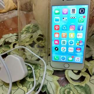 i phone 6 16gb gold 4G LTE 98 % mulus ex.cewe