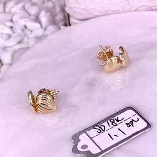 Pawnable 18k Saudi Gold Earrings