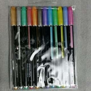 金屬筆12色