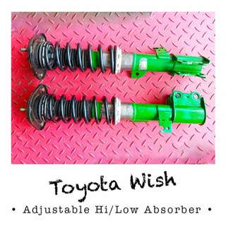 Tein Adjustable Absorber Toyota Wish