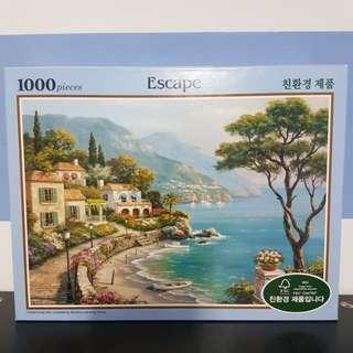 1000 pcs Jigsaw Puzzle 'Escape'