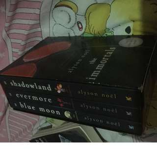 The Immortals Trilogy