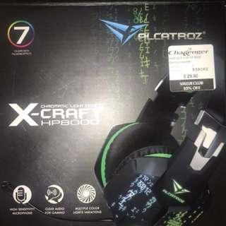 Alcatroz xcraft hp8000 headphones
