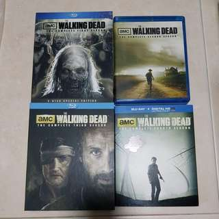 Walking Dead Complete Season 1 To 4 Bluray Collection | 18 Discs
