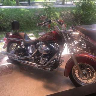 HD Softail Heritage Classic 2005