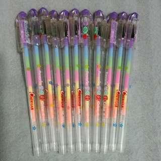 六色原子筆