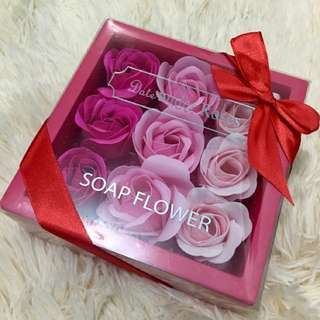 Valentine's Gift: Perfumed Soap Flowers