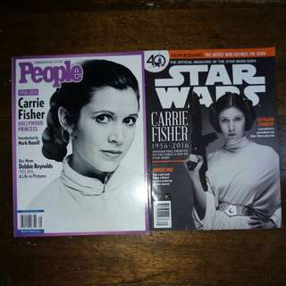Bundle - Carrie Fisher Magazines